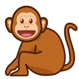 Monkey on emojidex 1.0.22