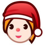 Mrs. Claus: Light Skin Tone on emojidex 1.0.22