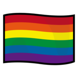 Rainbow Flag on emojidex 1.0.22