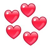 Revolving Hearts on emojidex 1.0.22