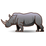 Rhinoceros on emojidex 1.0.22