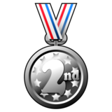 2nd Place Medal on emojidex 1.0.22