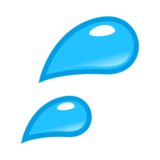 Sweat Droplets on emojidex 1.0.22