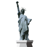Statue of Liberty on emojidex 1.0.22