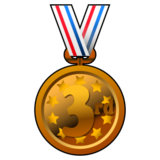3rd Place Medal on emojidex 1.0.22