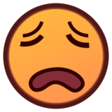 Weary Face on emojidex 1.0.22