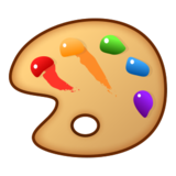 Artist Palette on emojidex 1.0.24