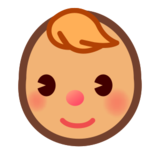 Baby: Medium Skin Tone on emojidex 1.0.24