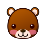Bear Face on emojidex 1.0.24