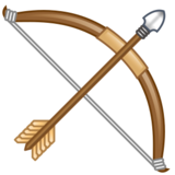 Bow and Arrow on emojidex 1.0.24