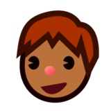 Boy: Medium-Dark Skin Tone on emojidex 1.0.24