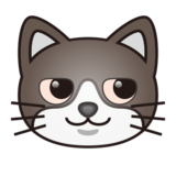 Cat Face With Wry Smile on emojidex 1.0.24