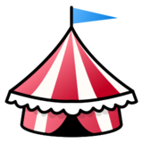 Circus Tent on emojidex 1.0.24