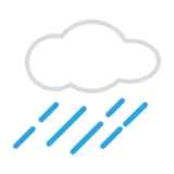 Cloud with Rain on emojidex 1.0.24
