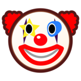 Clown Face on emojidex 1.0.24