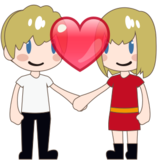 Couple With Heart, Type-1-2 on emojidex 1.0.24