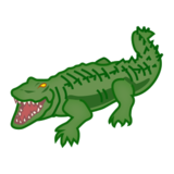 Crocodile on emojidex 1.0.24