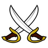 Crossed Swords on emojidex 1.0.24
