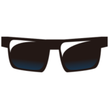 Sunglasses on emojidex 1.0.24