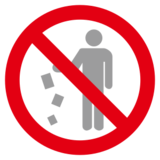 No Littering on emojidex 1.0.24