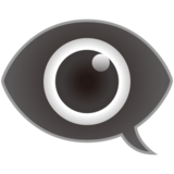 Eye in Speech Bubble on emojidex 1.0.24
