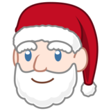 Santa Claus: Light Skin Tone on emojidex 1.0.24