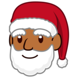 Santa Claus: Medium-Dark Skin Tone on emojidex 1.0.24