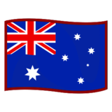Flag: Australia on emojidex 1.0.24