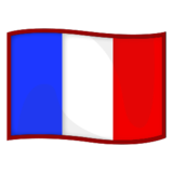 Flag: France on emojidex 1.0.24