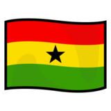 Flag: Ghana on emojidex 1.0.24