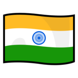 Flag: India on emojidex 1.0.24