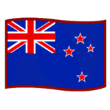 Flag: New Zealand on emojidex 1.0.24