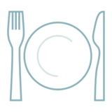 Fork and Knife with Plate on emojidex 1.0.24