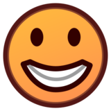Grinning Face on emojidex 1.0.24