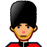 Guard: Medium Skin Tone on emojidex 1.0.24