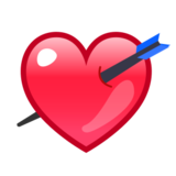 Heart With Arrow on emojidex 1.0.24