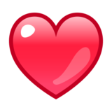 Red Heart on emojidex 1.0.24