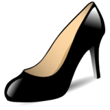 High-Heeled Shoe on emojidex 1.0.24