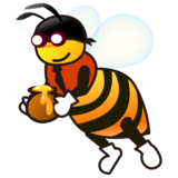 Honeybee on emojidex 1.0.24