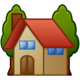 House With Garden on emojidex 1.0.24