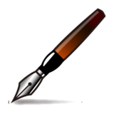 Fountain Pen on emojidex 1.0.24