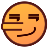 Lying Face on emojidex 1.0.24