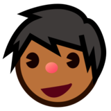 Man: Medium-Dark Skin Tone on emojidex 1.0.24