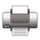 Printer on emojidex 1.0.24