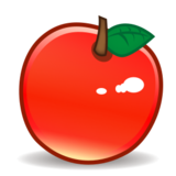 Red Apple on emojidex 1.0.24