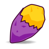 Roasted Sweet Potato on emojidex 1.0.24