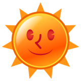 Sun with Face on emojidex 1.0.24