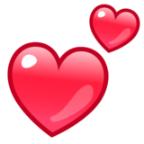 Two Hearts on emojidex 1.0.24