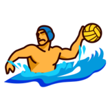 Person Playing Water Polo on emojidex 1.0.24
