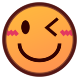 Winking Face on emojidex 1.0.24